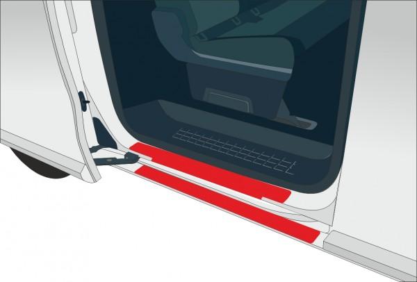 Schwellerbereich Schiebetür für Ford Tourneo Transit Custom (ab 01/13)