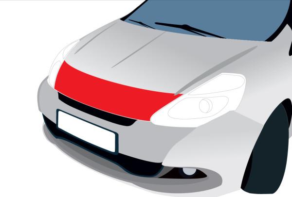 Streifen Motorhaube, transparent für Alfa Giulia 5-türer (ab 06/16) Typ 952
